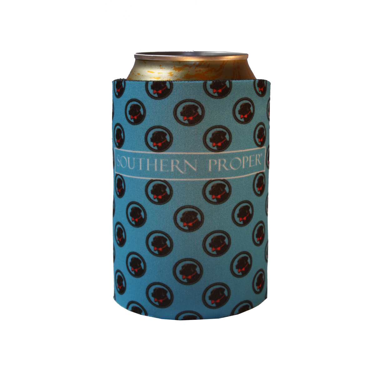 Blue Logo Coozie